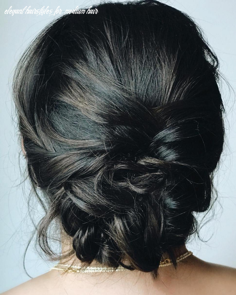 11 Wonderful Updos for Medium Hair to Inspire New Looks - Hair Adviser