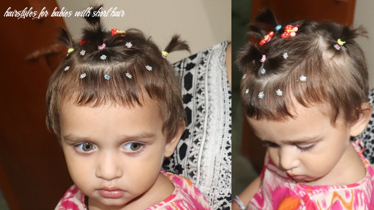 12 adorable babies hairstyles ceplukan hairstyles for babies with short hair