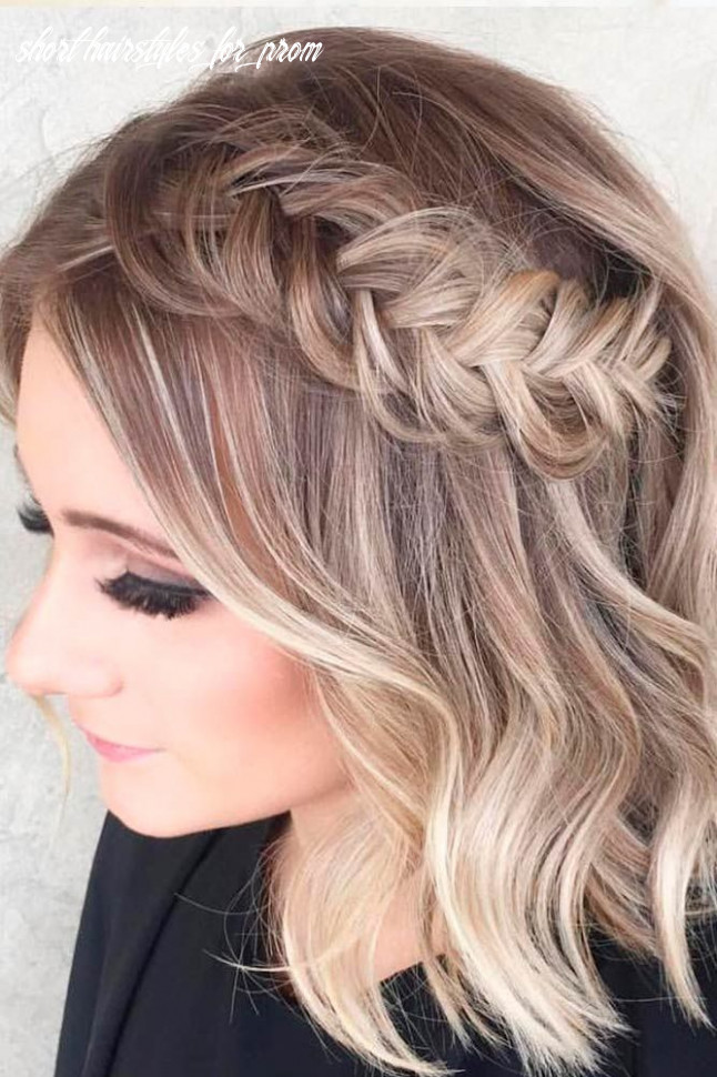 12 amazing prom hairstyles for short hair 12 (with images