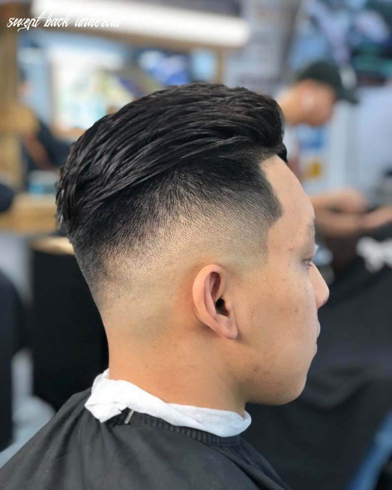 12 amazing slicked back undercut ideas you need to try!   outsons