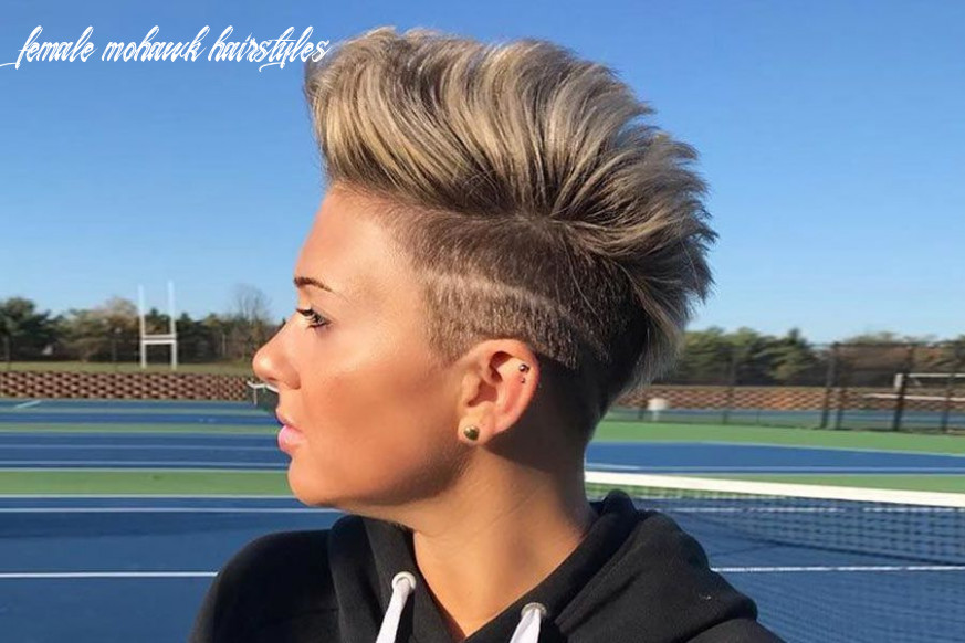 12 badass looks with a mohawk | lovehairstyles