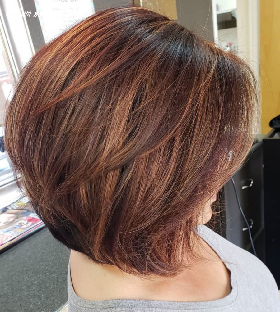 12 Beautiful and Convenient Medium Bob Hairstyles (With images ...