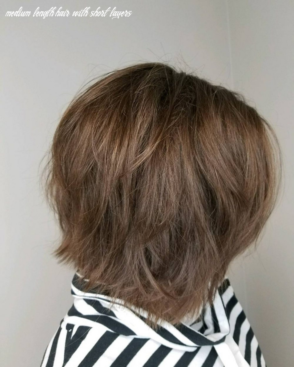 12 best choppy layered hairstyles (that will flatter anyone) medium length hair with short layers