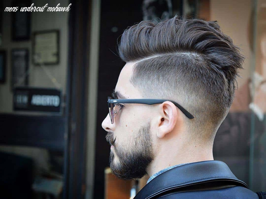 12 best disconnected undercuts for any men – hairstylecamp mens undercut mohawk