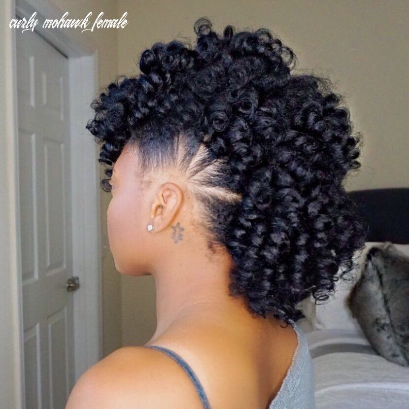 12 Best Female Mohawk Hairstyles