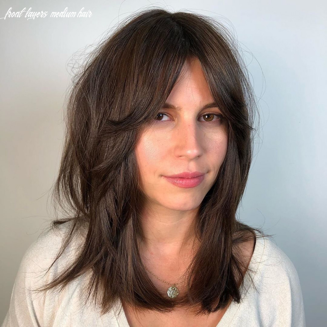 12 best layered haircuts and hairstyles for 12 hair adviser front layers medium hair