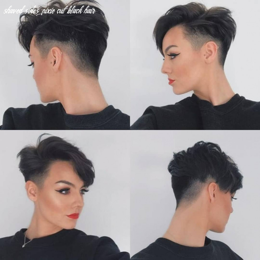 12 best pixie cut hairstyles for 12 you will want to see shaved sides pixie cut black hair