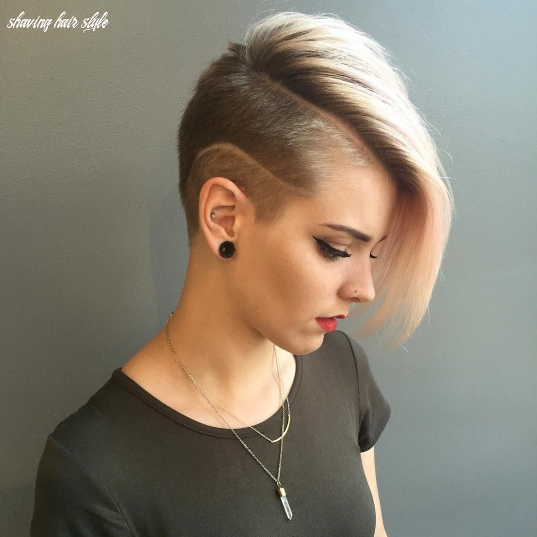 12 best shaved hairstyles for women in 12 | Короткие стрижки shaving hair style