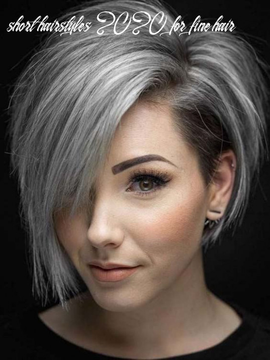12 best short hairstyles for fine hair 12 | hairstylesco short hairstyles 2020 for fine hair