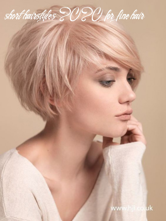 12 best short hairstyles for fine hair 12 short hairstyles 2020 for fine hair