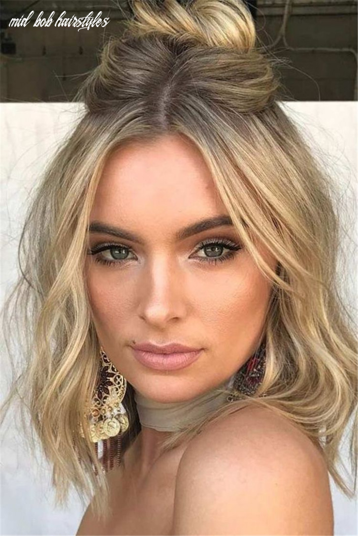 12 best short or mid length hairstyle for spring | prom hairstyles