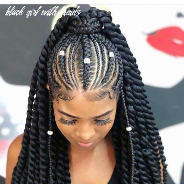 12 captivating braided hairstyles for black girls‎ (12) black girl with braids