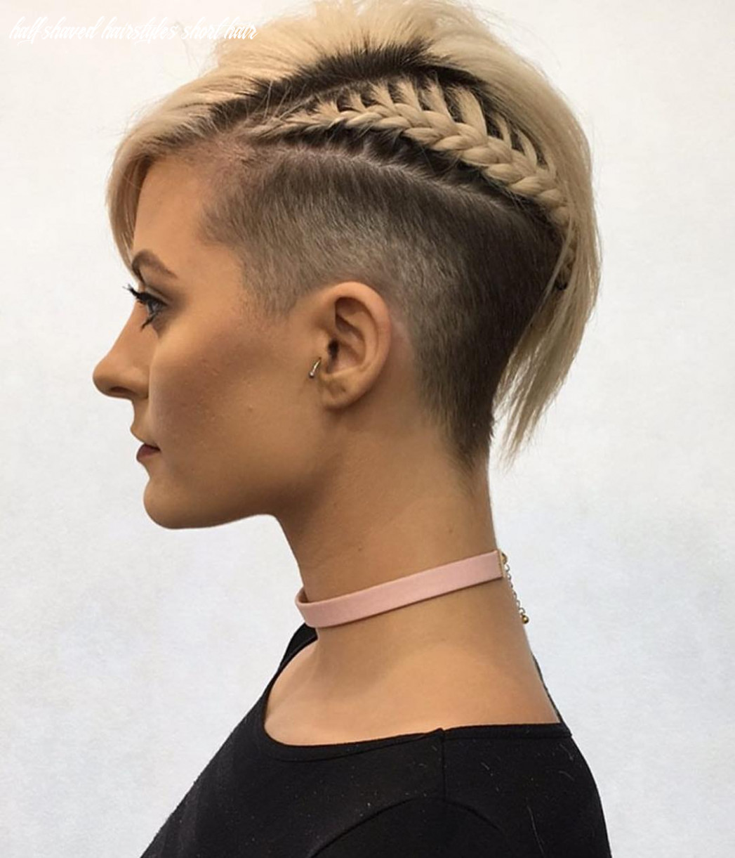 12 Chic Shaved Haircuts for Short Hair 12