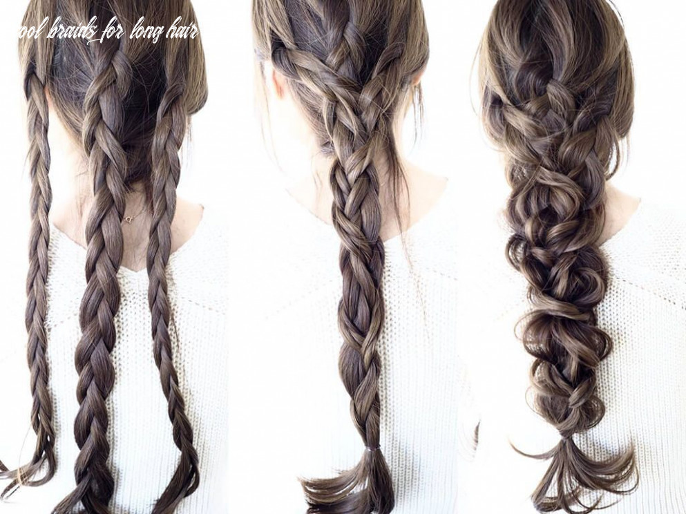 12 cool braids that are actually easy | long hair styles, medium