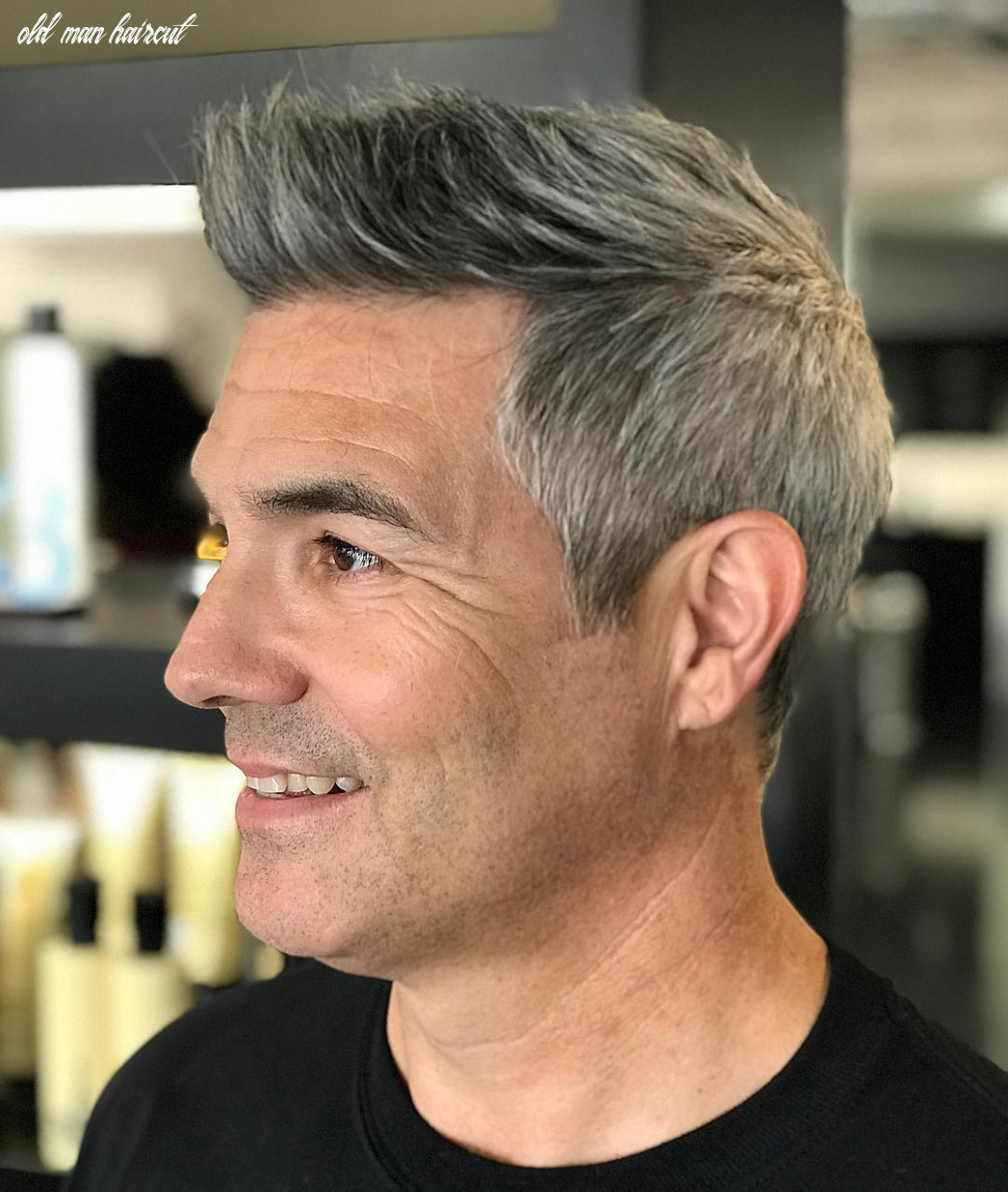 12+ Cool Hairstyles + Haircuts For Older Men (12 Update)