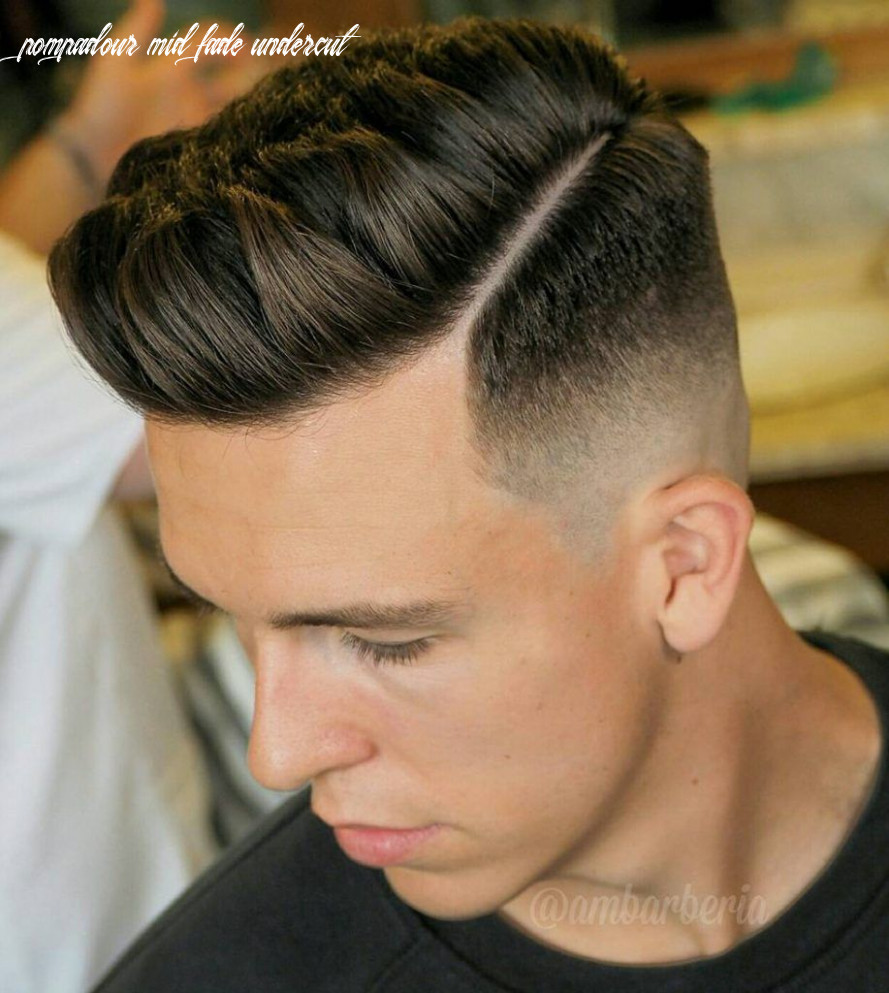 12 cool mid fade haircut styles to try right now | undercut fade