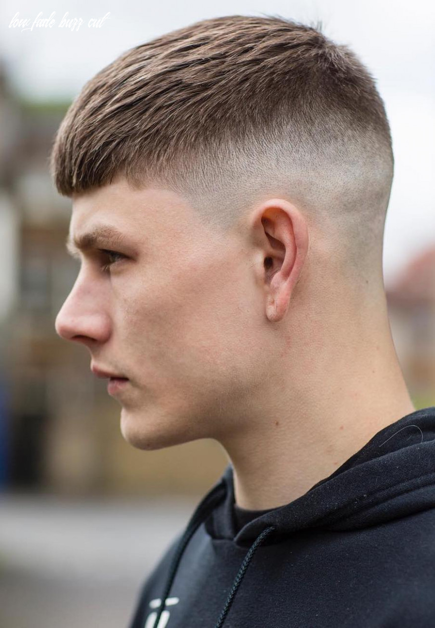 12 crew cut examples: a great choice for modern men low fade buzz cut