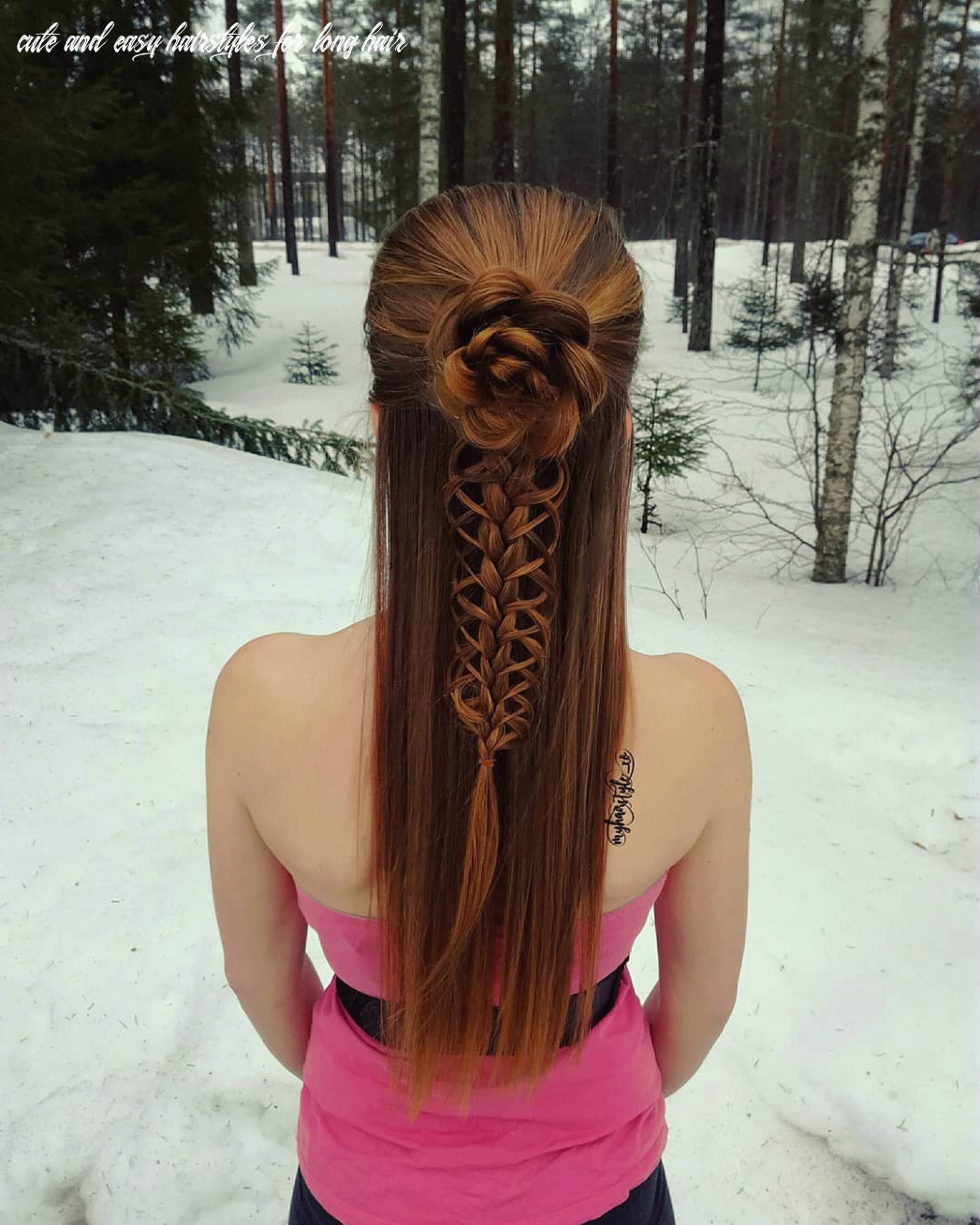 12 Cute And Easy Hairstyle For Long Hair You Need To Try
