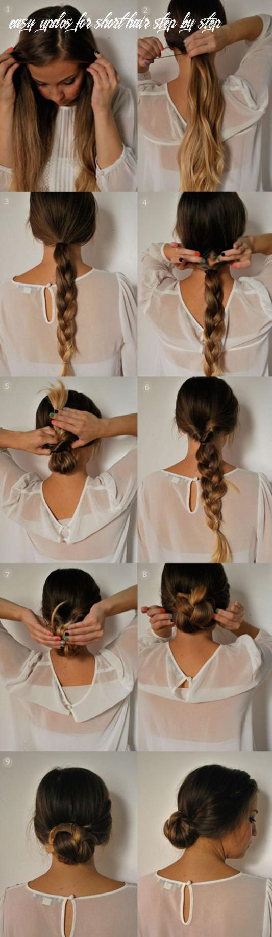 12 Easy 12 Minutes Hairstyles for women - Hairstyles Weekly