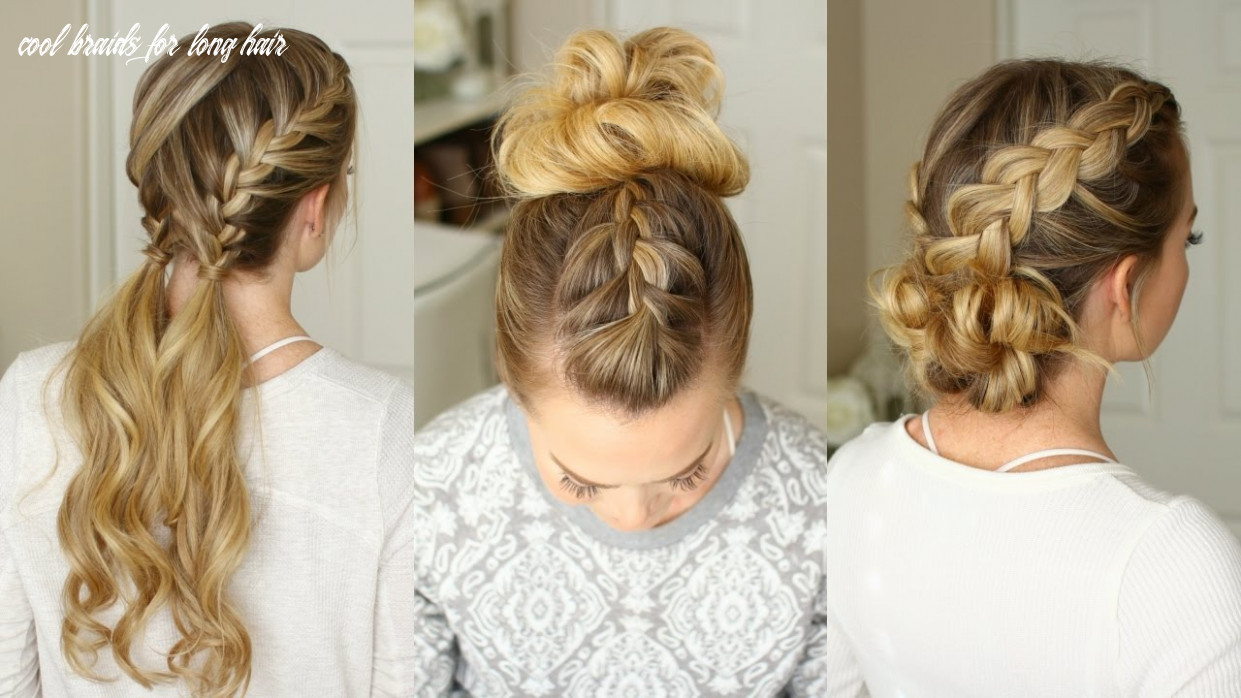 12 easy braided hairstyles | missy sue cool braids for long hair