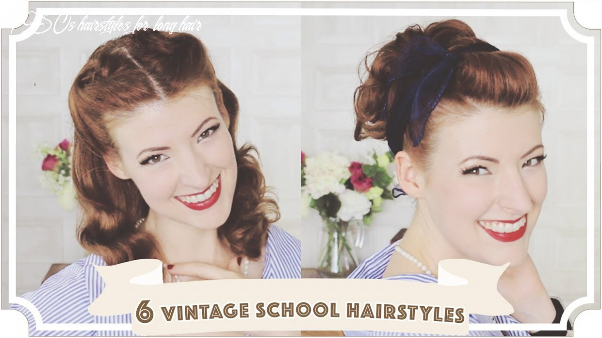 12 Easy Vintage 12s Back To School Hairstyles [CC]