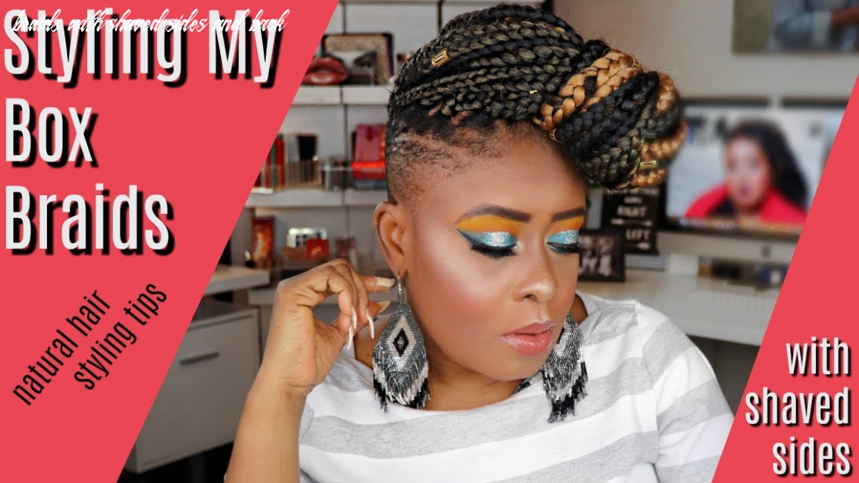 12 exotic braided hairstyles with shaved sides for women braids with shaved sides and back
