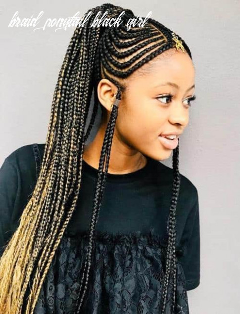 12 exotic ponytail hairstyles with crochet braids (12