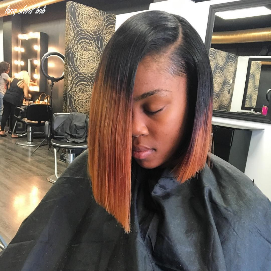 12 exquisite long and short bob hairstyles for black women — find