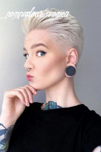 12 extravagant looks with a pompadour haircut | lovehairstyles pompadour women