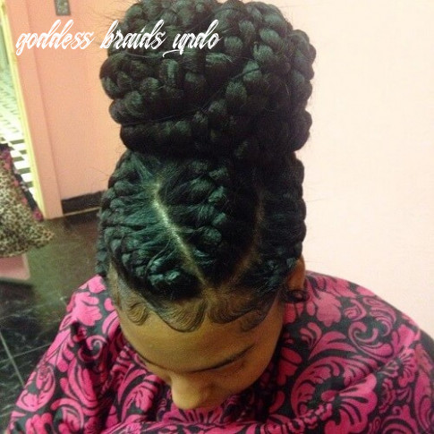 12 Flattering Goddess Braids Ideas to Inspire You! | Hair Motive ...