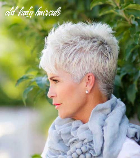 12 flattering short haircuts for older women in 12 old lady haircuts