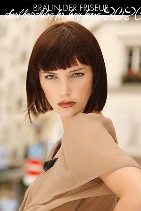 12 flattering short hairstyles for long faces in 12 | long face