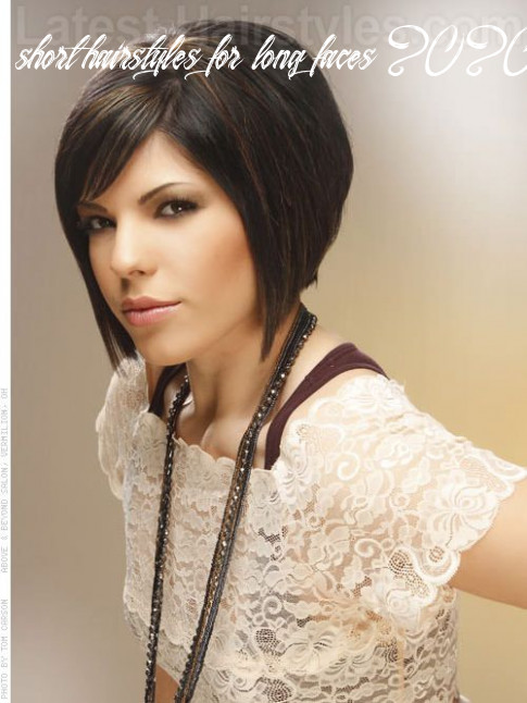12 flattering short hairstyles for long faces in 12 short hairstyles for long faces 2020