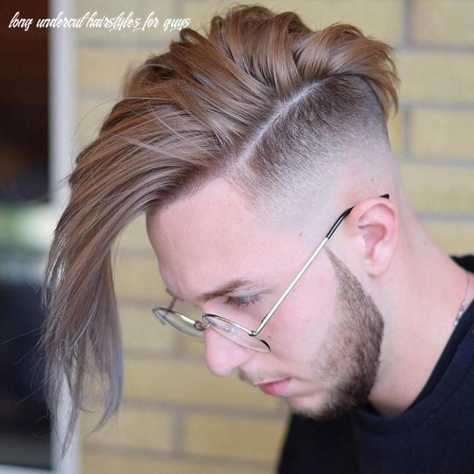 12 Funky Men's Undercut Hairstyles and Haircuts | Men hair color ...