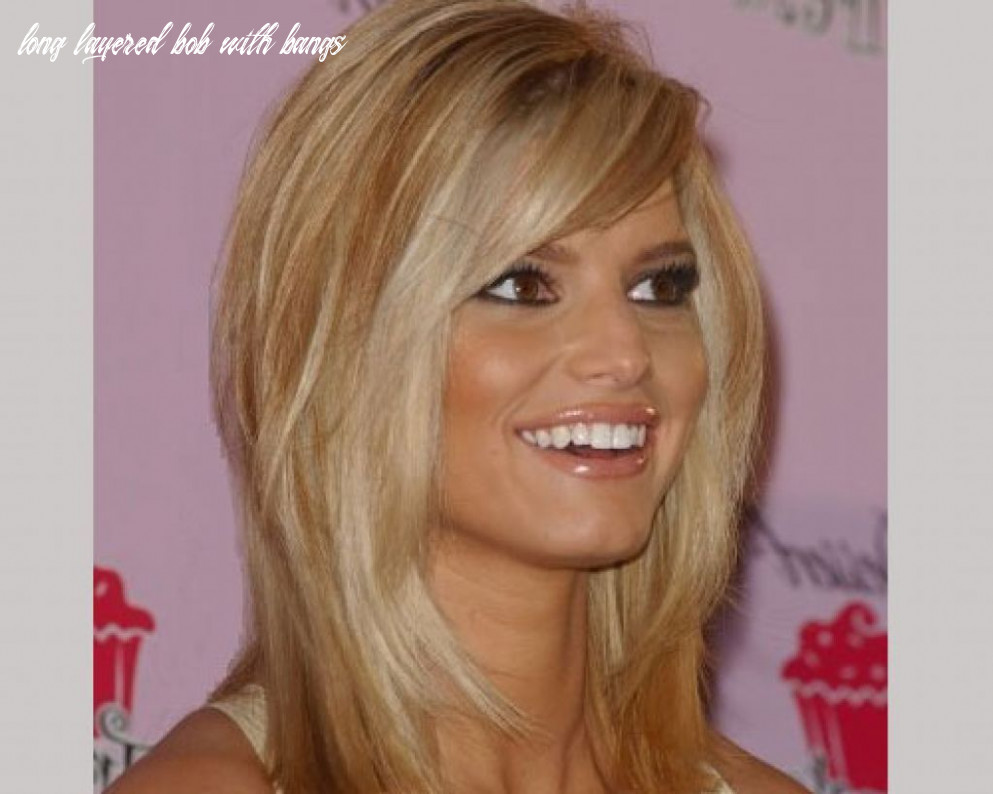 12 gorgeous long layered bobs with bangs haircuts | bobbed