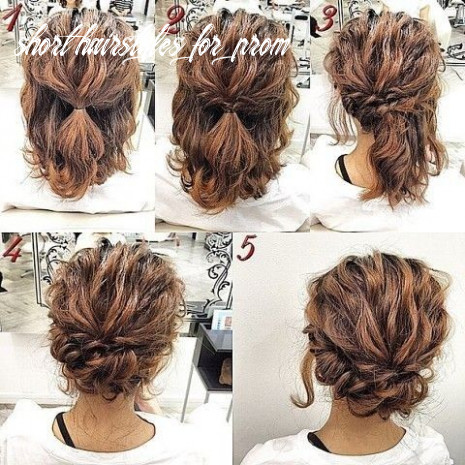 12 gorgeous prom hairstyle designs for short hair: prom hairstyles
