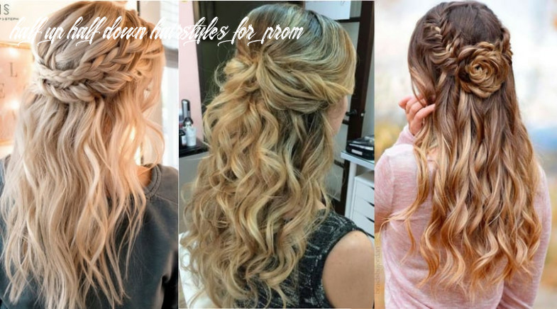 12 half up half down hairstyles for wedding, prom etc  half up half down hairstyles for prom
