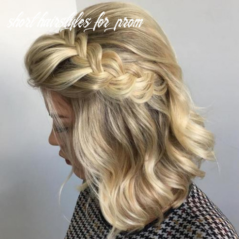 12 hottest prom hairstyles for short hair short hairstyles for prom