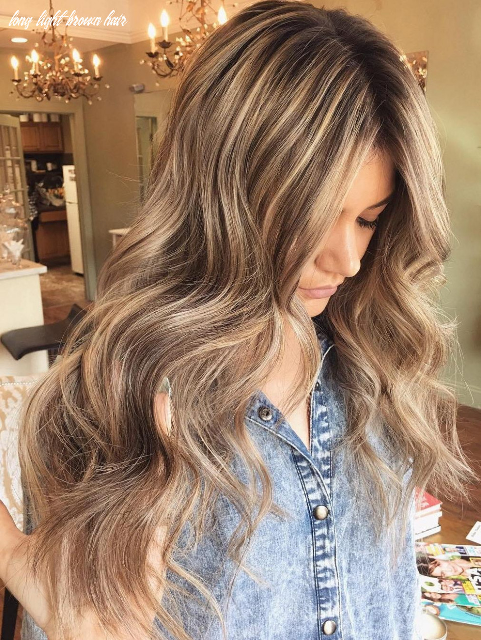 12 Ideas for Light Brown Hair with Highlights and Lowlights ...