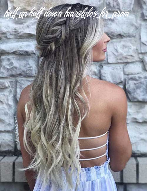 12 Incredible Half Up-Half Down Prom Hairstyles