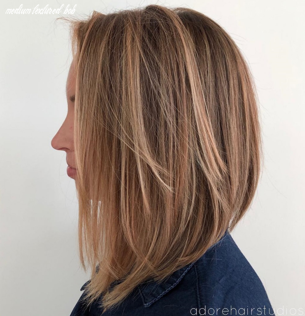 12 layered bobs you will fall in love with hair adviser medium textured bob
