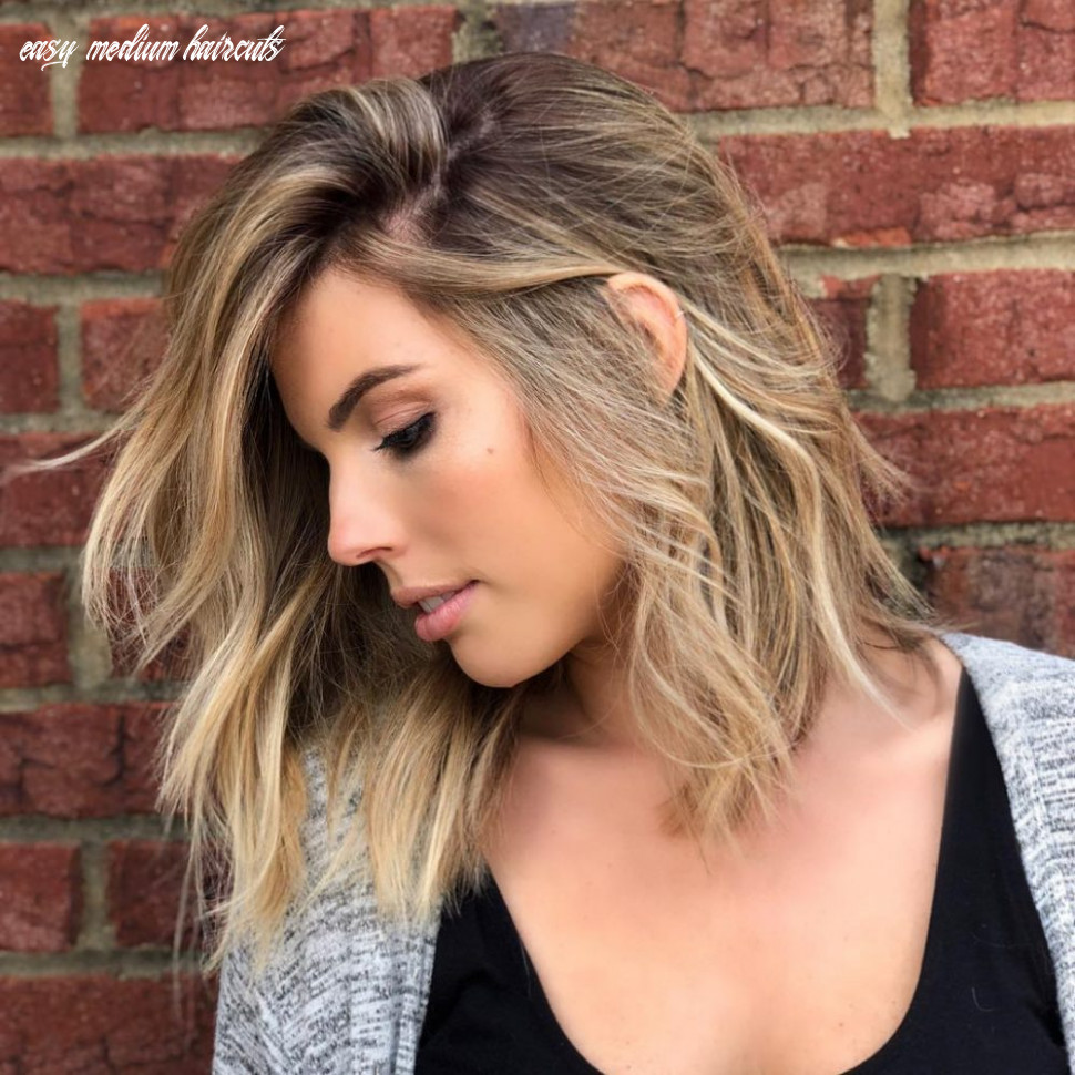 12 medium hairstyles for oval faces in 12 easy medium haircuts