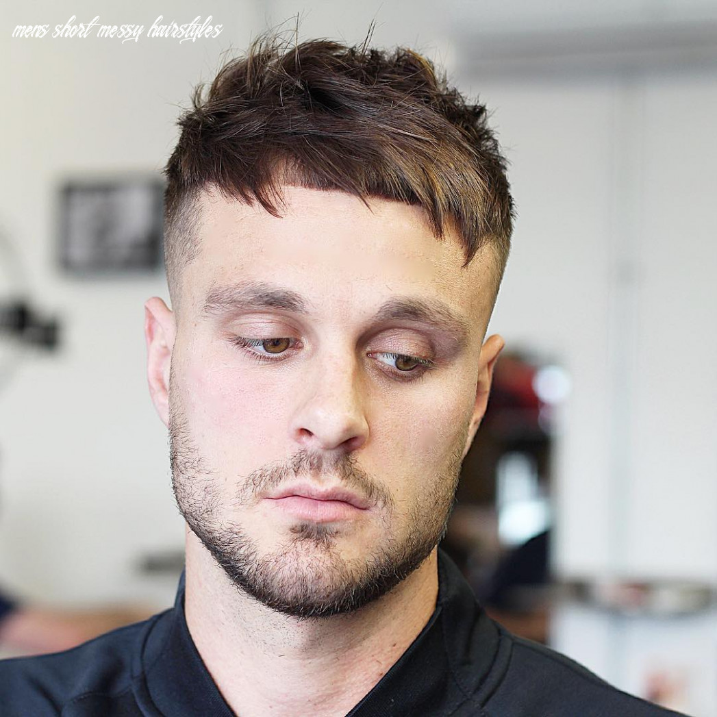 12 Men's Messy Hairstyles For Spiffy Look - Haircuts & Hairstyles 12