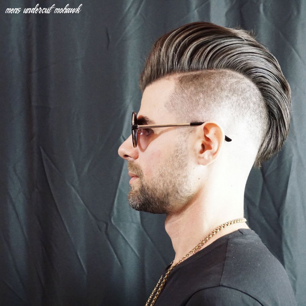 12 mohawk haircuts for 12 > totally cool styles mens undercut mohawk