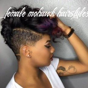 12 mohawk hairstyles for black women (with images) | short natural