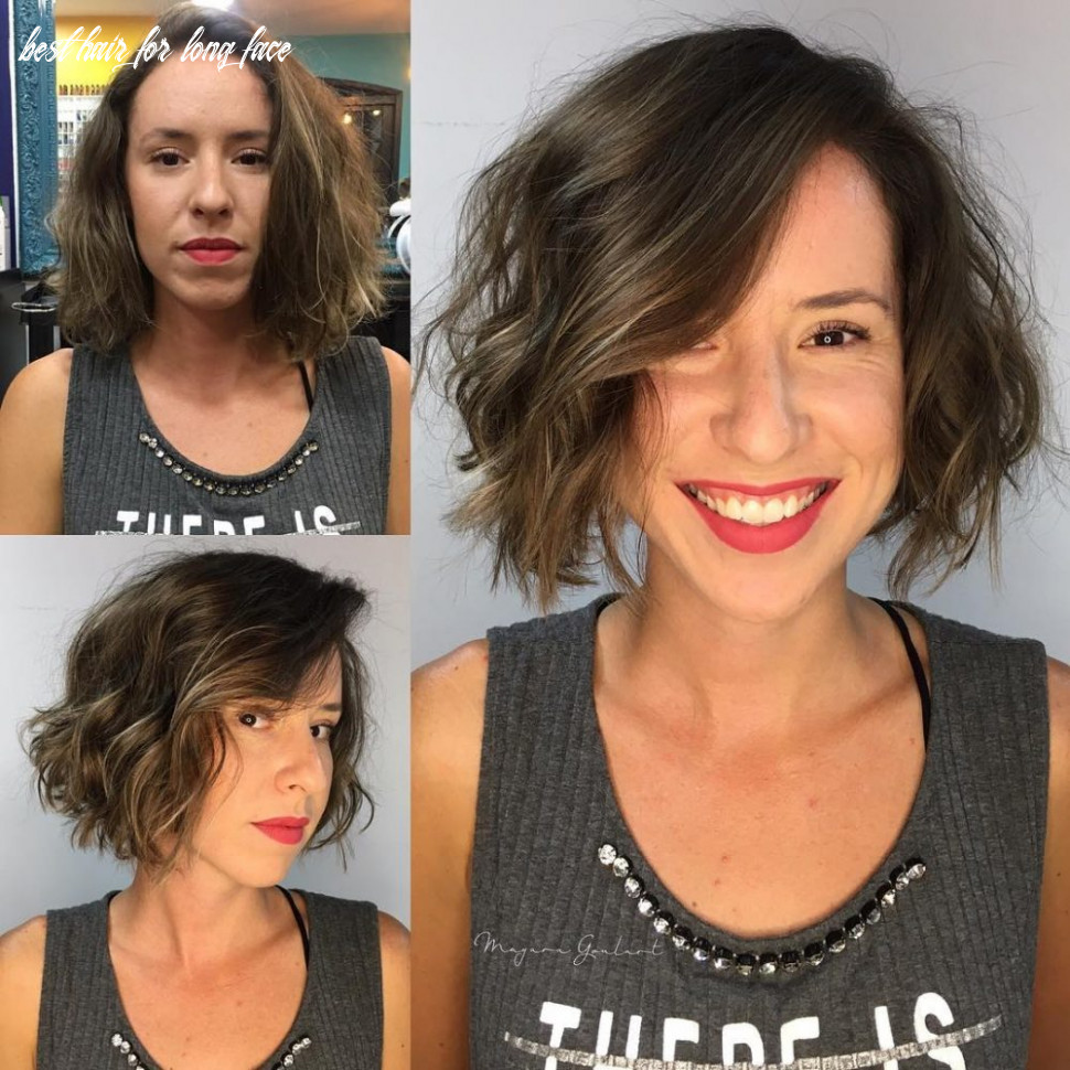 12 most flattering hairstyles for long faces to look shorter best hair for long face