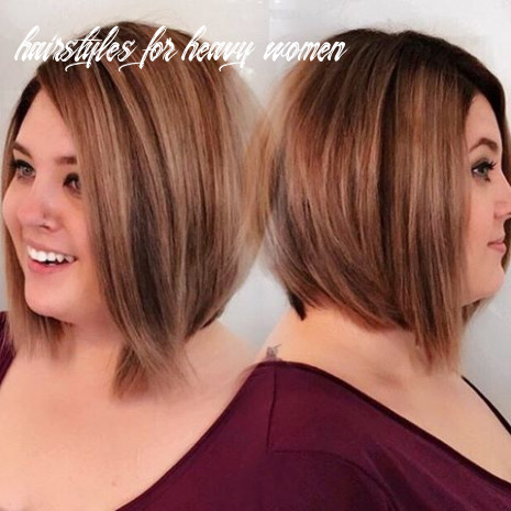 12 most flattering hairstyles for overweight woman [august, 12] hairstyles for heavy women