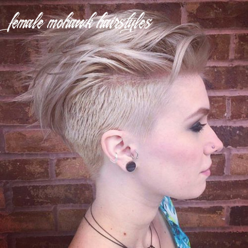 12 most gorgeous mohawk hairstyles of nowadays female mohawk hairstyles
