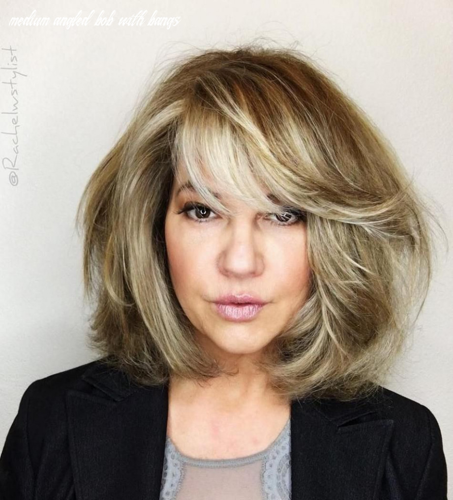 12 most prominent hairstyles for women over 12 | blonde bob with