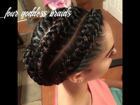 12 of the most stunning styles of the goddess braid four goddess braids